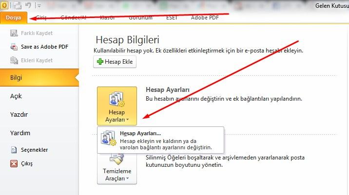 Yandex.Mail Tüm Ayarlar Ekran Görüntüsü
