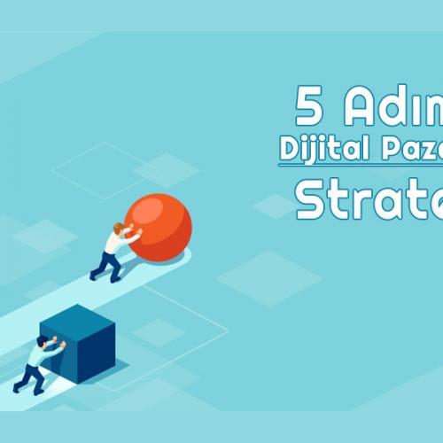 5 Adımda Dijital Pazarlama Stratejisi Oluşturmak