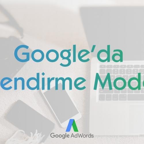 Google Ads İlişkilendirme Modelleri