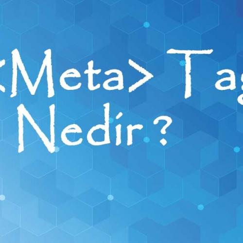 Meta Tag Nedir ?