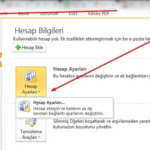 Microsoft Outlook POP3 Email Hesap Kurulumu Nasıl Yapılır ?